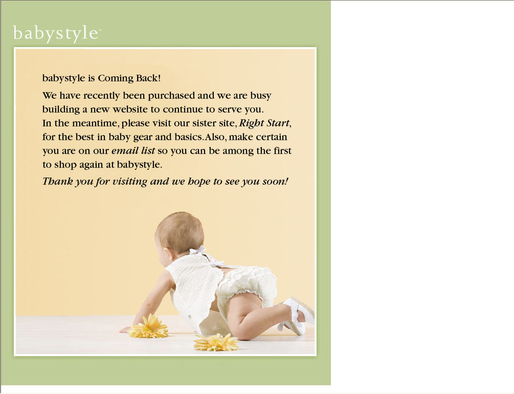babystyle back